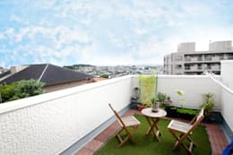 Terrazas de estilo  por 遊友建築工房