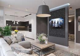 Ruang Keluarga by Студия авторского дизайна ASHE Home