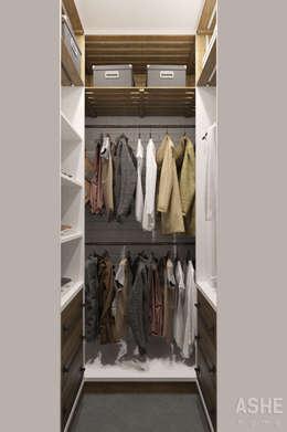 Ruang Ganti by Студия авторского дизайна ASHE Home