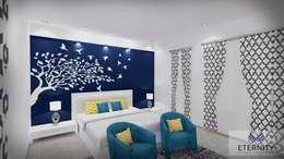 Interior design: modern Bedroom by Eternity Designers