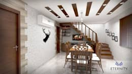 Interior design: modern Dining room by Eternity Designers
