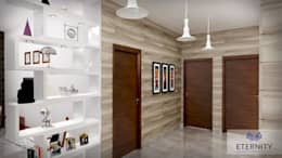 Interior design:  Corridor & hallway by Eternity Designers