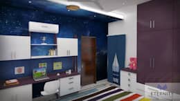 Interior design: modern Study/office by Eternity Designers