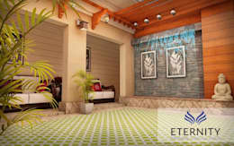 Interior design:  Corridor & hallway by Eternity Designers