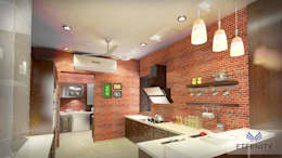 Interior design: modern Kitchen by Eternity Designers
