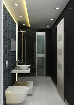 modern Bathroom by The Silversea
