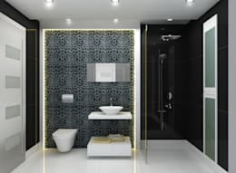 Interior Design: modern Bathroom by The Silversea