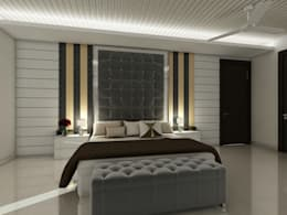 Interior Design: modern Bedroom by The Silversea