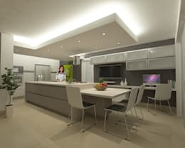 Techos Para Cocinas | Iluminacion Para Cocinas Techos Perfect Iluminar Estancias Con