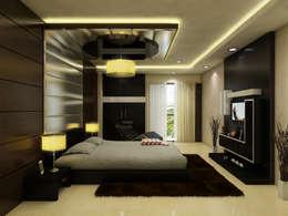 modern Bedroom by The Brick Studio