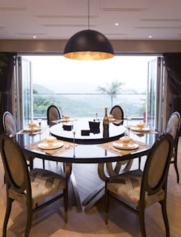 Tycoon Place | Hong Kong: modern Dining room by Another Design London Limited