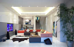 Tycoon Place: modern Living room by Another Design International