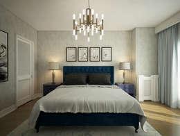 yücel partners – İ&M YILDIZ EVİ: modern tarz Yatak Odası
