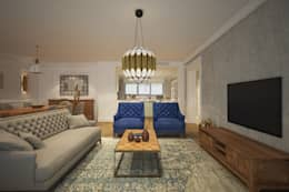 modern Living room by yücel partners