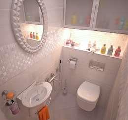 minimalistic Bathroom by Grafit Architects