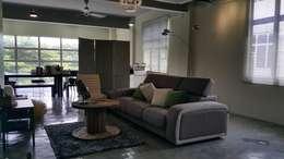 Livings de estilo moderno por Alecc Interior Design