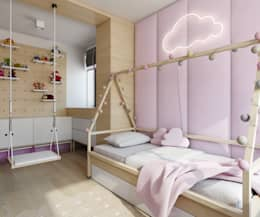 scandinavian Nursery/kid's room by TutajConcept
