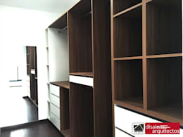modern Bedroom by disain arquitectos