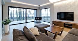 modern Living room by ELM Projekt Studio
