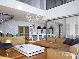Гостиная в . Автор – LK&Projekt GmbH