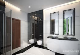 Salle de bains de style  par LK&Projekt GmbH