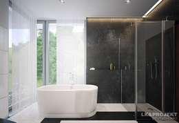 moderne Badkamer door LK&Projekt GmbH