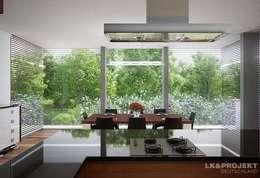 moderne Eetkamer door LK&Projekt GmbH