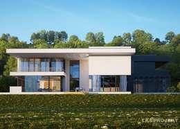 Maisons de style de style Moderne par LK&Projekt GmbH