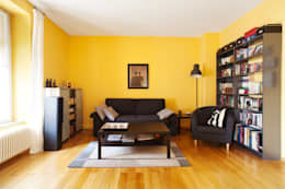 MW Immobilienfotografie: modern tarz Oturma Odası