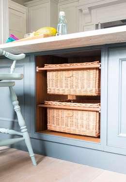 Projekty,  Kuchnia zaprojektowane przez Sculleries of Stockbridge