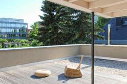 Projekty,  Taras zaprojektowane przez fried.A - Büro für Architektur