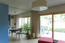 Projekty,  Salon zaprojektowane przez fried.A - Büro für Architektur