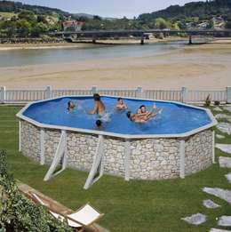 Swimmingpool im garten 6 budgetfreundliche ideen for Pool in steinoptik
