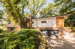 Projekty,  Garaż zaprojektowane przez Hellmers P2   Architektur & Projekte