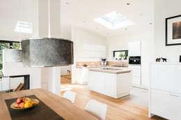 Projekty,  Kuchnia zaprojektowane przez Hellmers P2   Architektur & Projekte