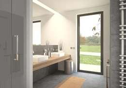 Salle de bain: Salle de bains de style  par bedesign