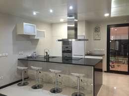 minimalistic Kitchen by KITUR