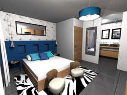 STUDIO 88: modern tarz Yatak Odası
