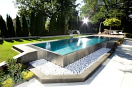 modern Pool by London Swimming Pool Company