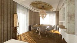 rustic Dining room by Gümüşcü Mimarlık