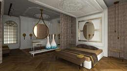 Gümüşcü Mimarlık – Sinan Başyazıcıoğlu Konut: rustik tarz tarz Yatak Odası