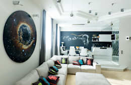 eclectic Living room by DEMARKA