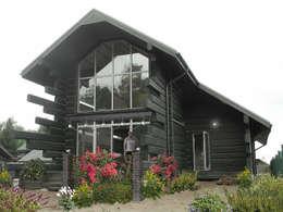 Casas de estilo escandinavo por архитектурная мастерская МАРТ