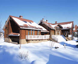 Дом в Успенском: Дома в . Автор – архитектурная мастерская МАРТ