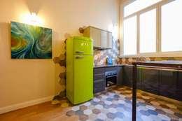 مطبخ تنفيذ Matteo Gattoni - Architetto