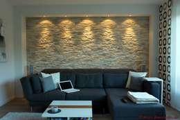 mediterranean Living room by Rimini Baustoffe GmbH