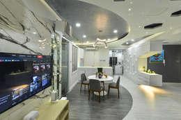 غرفة السفرة تنفيذ Design Spirits