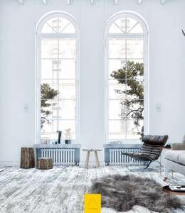 Penintdesign İç Mimarlık  – Telvin Livingroom: iskandinav tarz tarz Oturma Odası