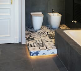 Ванные комнаты в . Автор – Onice Architetti