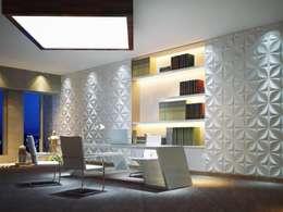 Oficinas y Tiendas de estilo  por Twinx Interiors